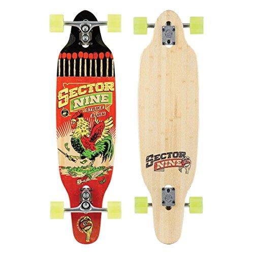 セクター9 ロングスケートボード スケボー 海外モデル アメリカ直輸入 SS165CRed Sector 9 Striker Complete Skateboard, Redセクター9 ロングスケートボード スケボー 海外モデル アメリカ直輸入 SS165CRed