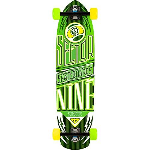 セクター9 ロングスケートボード スケボー 海外モデル アメリカ直輸入 DECK 【送料無料】Sector 9 Skateboards Carbon Flight Longboard Green, One Sizeセクター9 ロングスケートボード スケボー 海外モデル アメリカ直輸入 DECK
