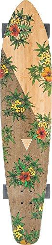 グローブ ロングスケートボード スケボー 海外モデル アメリカ直輸入 428407813083 【送料無料】Globe Byron Bay Complete Skateboard, Bamboo/Hibiscus, 43