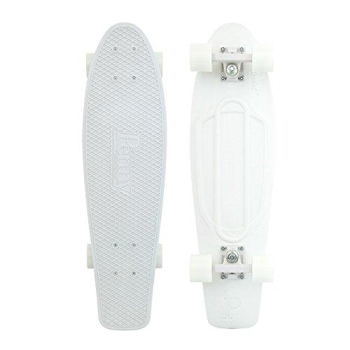"""スタンダードスケートボード スケボー 海外モデル 直輸入 PNYCOMP27262 Penny Nickel Complete Skateboard, White Lightning, 27"""" Lスタンダードスケートボード スケボー 海外モデル 直輸入 PNYCOMP27262"""