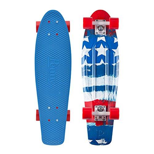 ロングスケートボード スケボー 海外モデル 直輸入 PNYCOMP27318 Penny Nickel Graphic Skateboard - Patriot 27