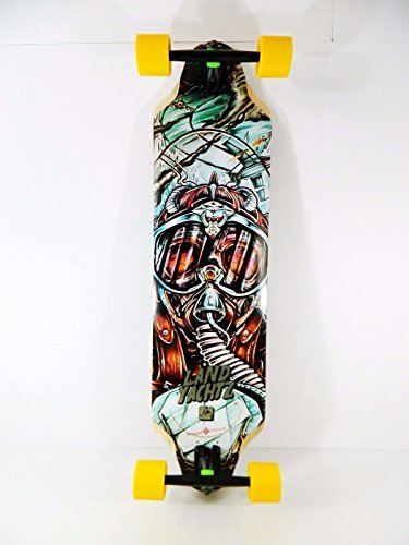 即納!最大半額! ランドヤッツ Top ロングスケートボード スケボー 海外モデル アメリカ直輸入 Landyachtz Longboard 9.5