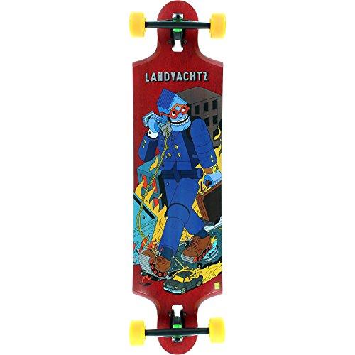 ランドヤッツ ロングスケートボード スケボー 海外モデル アメリカ直輸入 Landyachtz Tensor To Four Complete Longboard Skateboard -9.75x38.75ランドヤッツ ロングスケートボード スケボー 海外モデル アメリカ直輸入