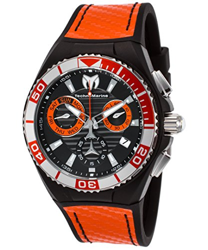 テクノマリーン 腕時計 メンズ TM-115178 Technomarine Men's Cruise Stainless Steel Swiss-Quartz Watch with Silicone Strap, Two Tone, 24 (Model: TM-115178)テクノマリーン 腕時計 メンズ TM-115178