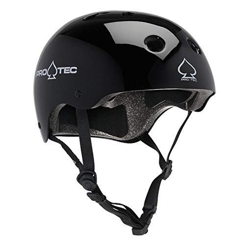 ヘルメット スケボー スケートボード 海外モデル 直輸入 116530005 【送料無料】Pro-Tec - Classic Cert, Gloss Black, Lヘルメット スケボー スケートボード 海外モデル 直輸入 116530005