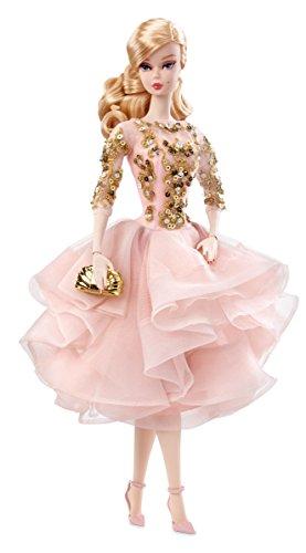 誕生日プレゼント バービー Cocktail バービー人形 バービー コレクション ファッションモデル ハリウッドムービースター DWF55 Barbie DWF55 Fashion Model Collection, Blush & Gold Cocktail Dressバービー バービー人形 コレクション ファッションモデル ハリウッドムービースター DWF55, MISONOYA:acb00d12 --- canoncity.azurewebsites.net