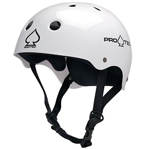 ヘルメット スケボー スケートボード 海外モデル 直輸入 116430205 Pro-Tec Classic Cert, Gloss White, Lヘルメット スケボー スケートボード 海外モデル 直輸入 116430205