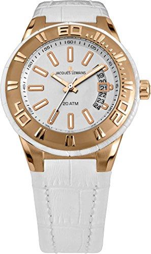 腕時計 ジャックルマン オーストリア メンズ ケビンコスナー愛用 1-1770H 【送料無料】Jacques Lemans Milano 1-1770H Mens Wristwatch 200m Water-Resistant腕時計 ジャックルマン オーストリア メンズ ケビンコスナー愛用 1-1770H