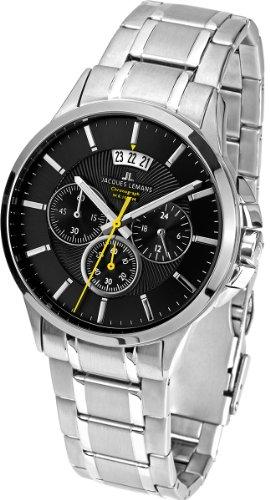 ジャックルマン オーストリア 腕時計 メンズ ケビンコスナー愛用 1-1542D 【送料無料】Jacques Lemans Sydney Gents Metal Bracelet Watch 1-1542Dジャックルマン オーストリア 腕時計 メンズ ケビンコスナー愛用 1-1542D
