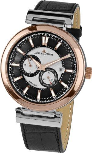 ジャックルマン オーストリア 腕時計 メンズ ケビンコスナー愛用 Classic Jacques Lemans Verona Automatic 1-1730Bジャックルマン オーストリア 腕時計 メンズ ケビンコスナー愛用 Classic