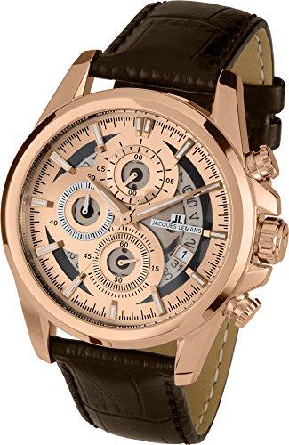 ジャックルマン オーストリア 腕時計 メンズ ケビンコスナー愛用 Liverpool 1-1847 【送料無料】Jacques Lemans LIVERPOOL 1-1847D Mens Chronograph Design Highlightジャックルマン オーストリア 腕時計 メンズ ケビンコスナー愛用 Liverpool 1-1847