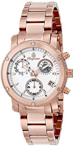 ブルゲルマイスター ドイツ高級腕時計 レディース BM524-318 【送料無料】Burgmeister Women's BM524-318 Analog Display Analog Quartz Rose Gold Watchブルゲルマイスター ドイツ高級腕時計 レディース BM524-318