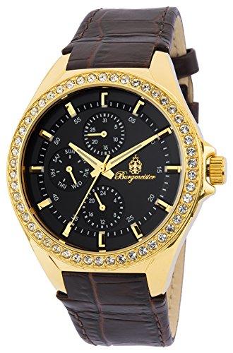 ブルゲルマイスター ドイツ高級腕時計 レディース BM529-225 【送料無料】Burgmeister Ladies BM529-225 Analog Display Quartz Brown Watchブルゲルマイスター ドイツ高級腕時計 レディース BM529-225