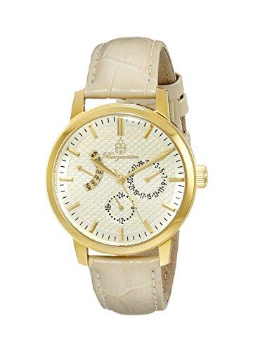 ブルゲルマイスター ドイツ高級腕時計 レディース BM218-290 【送料無料】Burgmeister Women's BM218-290 Gold-Tone Watch with Beige Leather Bandブルゲルマイスター ドイツ高級腕時計 レディース BM218-290