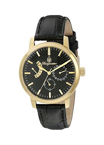 ブルゲルマイスター ドイツ高級腕時計 レディース BM218-222 【送料無料】Burgmeister Women's BM218-222 Analog Display Quartz Black Watchブルゲルマイスター ドイツ高級腕時計 レディース BM218-222