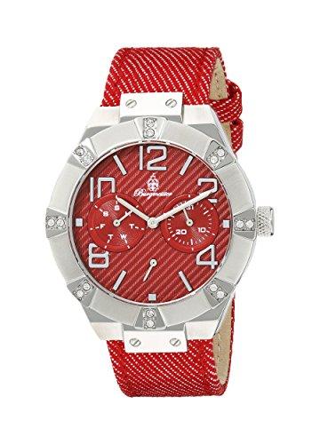 腕時計 ブルゲルマイスター レディース ドイツ高級腕時計 BM611-144 【送料無料】Burgmeister Women's BM611-144 Analog Display Quartz Red Watch腕時計 ブルゲルマイスター レディース ドイツ高級腕時計 BM611-144