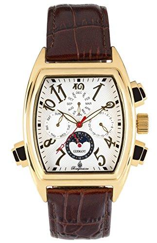 ブルゲルマイスター ドイツ高級腕時計 メンズ BM131-285 【送料無料】Burgmeister Men's BM131-285 Analog Display Automatic Self Wind Brown Watchブルゲルマイスター ドイツ高級腕時計 メンズ BM131-285