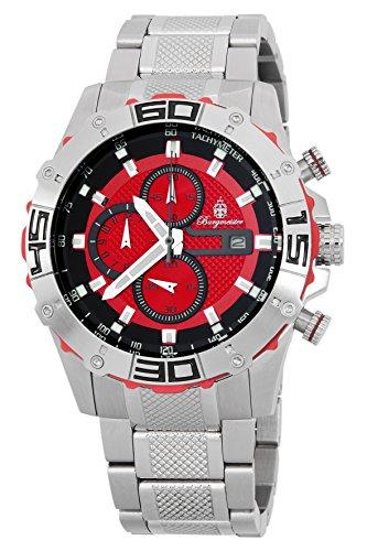 ブルゲルマイスター ドイツ高級腕時計 メンズ BM534-141 【送料無料】Burgmeister Men's BM534-141 Analog Display Quartz Silver Watchブルゲルマイスター ドイツ高級腕時計 メンズ BM534-141