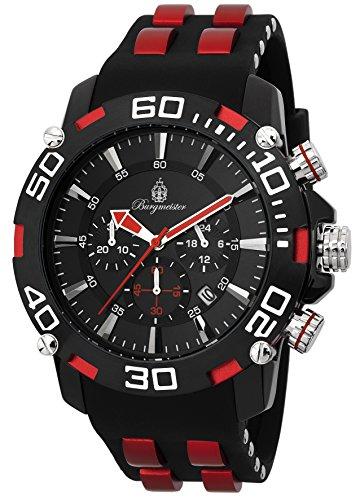 腕時計 ブルゲルマイスター メンズ ドイツ高級腕時計 BMT01-622c 【送料無料】Burgmeister Men's BMT01-622c Analog Display Quartz Black Watch腕時計 ブルゲルマイスター メンズ ドイツ高級腕時計 BMT01-622c