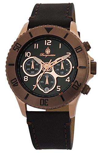 ブルゲルマイスター ドイツ高級腕時計 メンズ BM532-922 【送料無料】Burgmeister Men's BM532-922 Analog Display Quartz Black Watchブルゲルマイスター ドイツ高級腕時計 メンズ BM532-922