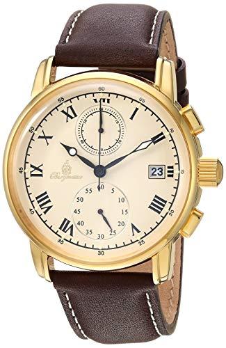 ブルゲルマイスター ドイツ高級腕時計 メンズ BM334-295 【送料無料】Burgmeister Men's Quartz Watch with Leather Calfskin Strap, Purple, 21.3 (Model: BM334-295)ブルゲルマイスター ドイツ高級腕時計 メンズ BM334-295