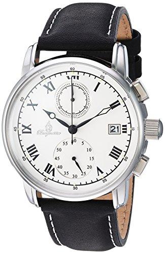 ブルゲルマイスター ドイツ高級腕時計 メンズ BM334-182 【送料無料】Burgmeister Men's Quartz Watch with Leather Calfskin Strap, Black, 22 (Model: BM334-182)ブルゲルマイスター ドイツ高級腕時計 メンズ BM334-182
