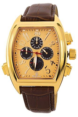 ブルゲルマイスター ドイツ高級腕時計 メンズ BM131-275 【送料無料】Burgmeister Men's BM131-275 Analog Display Automatic Self Wind Brown Watchブルゲルマイスター ドイツ高級腕時計 メンズ BM131-275