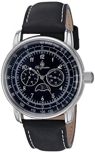 ブルゲルマイスター ドイツ高級腕時計 メンズ BM335-122 【送料無料】Burgmeister Men's Quartz Watch with Leather Calfskin Strap, Black, 21 (Model: BM335-122)ブルゲルマイスター ドイツ高級腕時計 メンズ BM335-122