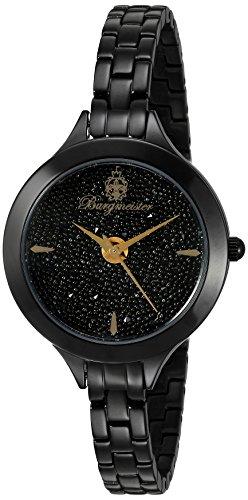 ブルゲルマイスター ドイツ高級腕時計 レディース BM536-626 【送料無料】Burgmeister Women's BM536-626 Analog Display Analog Quartz Black Watchブルゲルマイスター ドイツ高級腕時計 レディース BM536-626
