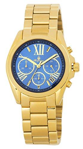 ブルゲルマイスター ドイツ高級腕時計 レディース BM337-237 【送料無料】Burgmeister Women's Quartz Watch with Stainless-Steel-Plated Strap, Gold, 20 (Model: BM337-237ブルゲルマイスター ドイツ高級腕時計 レディース BM337-237