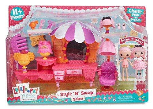 ララループシー 人形 ドール 541394 Lalaloopsy Minis Style 'N' Swap Playset- Salonララループシー 人形 ドール 541394