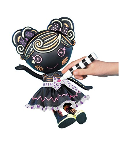 ララループシー 人形 ドール 531470 Lalaloopsy Color Me Trace E. Doodles Doll - Creative Chalkboard Erasable Drawing Doll, Includes Markers - 13 x 6 x 15 Inchesララループシー 人形 ドール 531470
