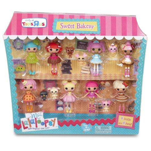 ララループシー 人形 ドール 416753 Mini Lalaloopsy Sugar and Spice 8-Packララループシー 人形 ドール 416753