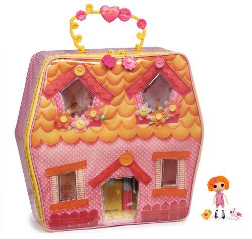 ララループシー 人形 ドール 506751 MGA Mini Lalaloopsy Carry-Along Playhouseララループシー 人形 ドール 506751