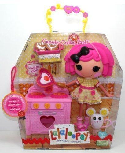 ララループシー 人形 ドール Lalaloopsy Crumbs Cookie Party - Large Sew Magical Doll and Kitchen Setララループシー 人形 ドール
