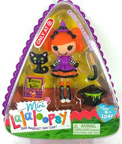 ララループシー 人形 ドール 413943 Lalaloopsy Exclusive 3 Inch Mini Figure with Accessories Candy Broomsticksララループシー 人形 ドール 413943