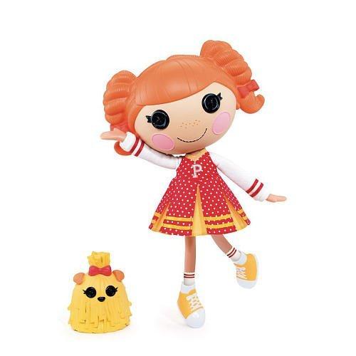 ララループシー 人形 ドール 【送料無料】Lalaloopsy Exclusive Doll Figure Peppy Pom Pomsララループシー 人形 ドール