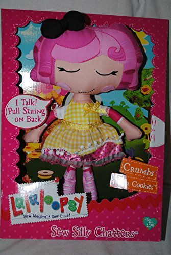 ララループシー 人形 ドール Lalaloopsy Talking Pull String Soft Doll - Crumbs Sugar Cookie by Lalaloopsyララループシー 人形 ドール