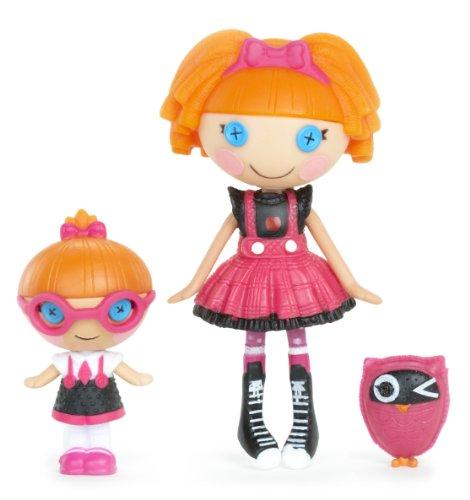 ララループシー 人形 ドール 520498 Lalaloopsy Mini Littles Doll, Bea Spells-A-Lot/Specs Reads-A-Lotララループシー 人形 ドール 520498