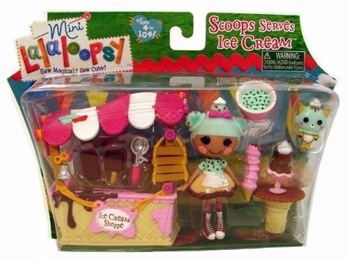 ララループシー 人形 ドール Lalaloopsy Mini Scoops Serves Ice Cream Bonus Bea Spells A Lotララループシー 人形 ドール