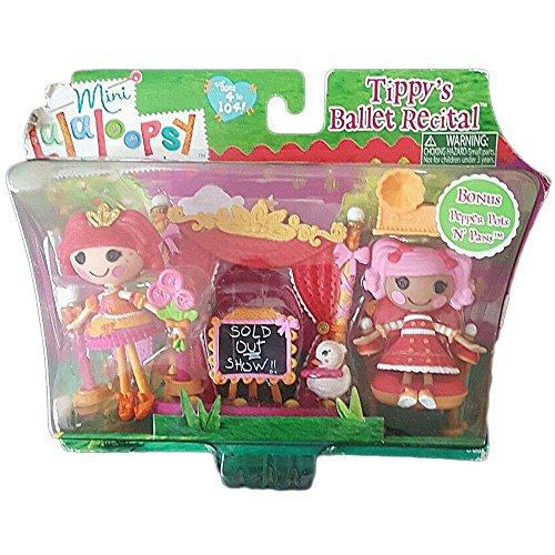 ララループシー 人形 ドール Lalaloopsy Mini Tippys Ballet Recital Bonus Pepper Pots N Pansララループシー 人形 ドール