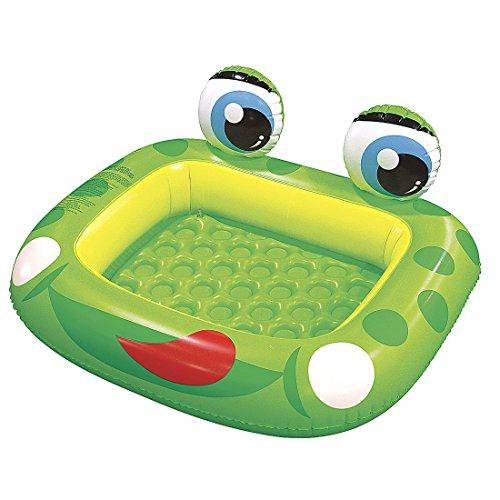 プール ビニールプール ファミリープール オーバルプール 家庭用プール 97001 Jilong Inflatable Frog Baby Pool for Ages 1-3, 50