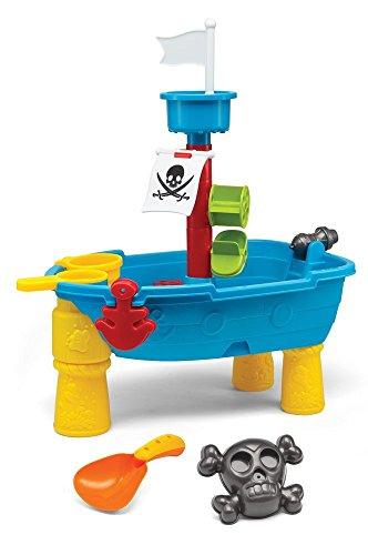フロート プール 水遊び おもちゃ 夏のアクティビティ特集 G02466 Kidoozie Small Pirate Ship Sand and Water Table Toy. Height 9