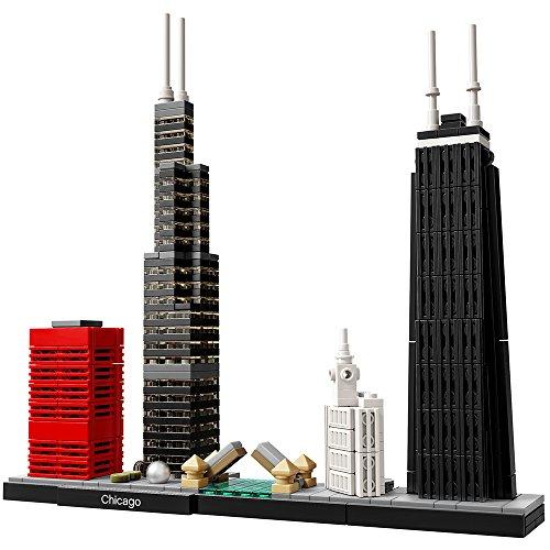 レゴ アーキテクチャシリーズ 6174056 LEGO Architecture Chicago 21033 Skyline Building Blocks Set (444 pieces)レゴ アーキテクチャシリーズ 6174056