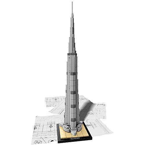 レゴ アーキテクチャシリーズ 6135666 LEGO Architecture Burj Khalifa 21031 Landmark Building Setレゴ アーキテクチャシリーズ 6135666