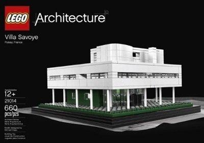 レゴ アーキテクチャシリーズ lego Lego 21014 architecture Villa Savoye 660 piece [parallel import goods]レゴ アーキテクチャシリーズ