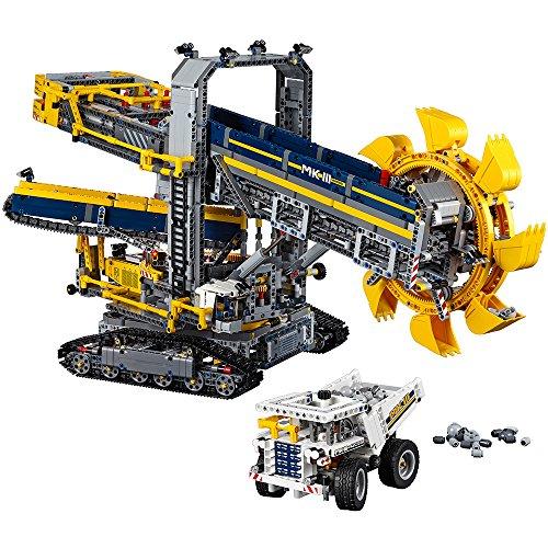 レゴ テクニックシリーズ 6137063 LEGO Technic Bucket Wheel Excavator 42055 Construction Toyレゴ テクニックシリーズ 6137063