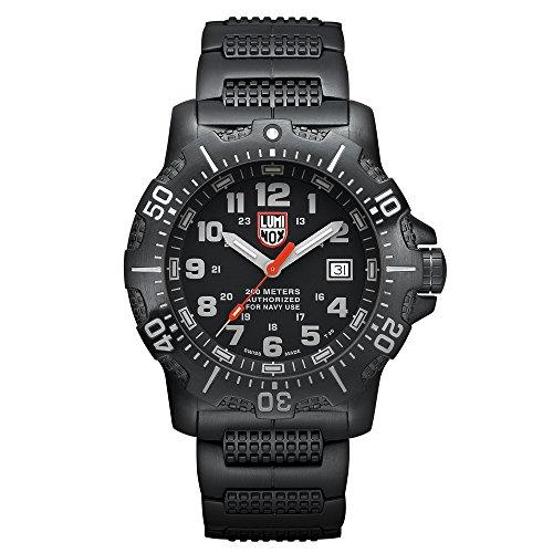 腕時計 ルミノックス アメリカ海軍SEAL部隊 ミリタリーウォッチ メンズ A.4222 【送料無料】Luminox 4200 Series Anu Black Stainless Steel Mens Watch腕時計 ルミノックス アメリカ海軍SEAL部隊 ミリタリーウォッチ メンズ A.4222