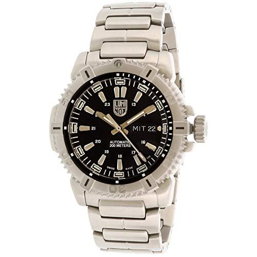 ルミノックス アメリカ海軍SEAL部隊 ミリタリーウォッチ 腕時計 メンズ XS.6502.NV 【送料無料】Luminox Modern Mariner 6500 Black Dial Stainless Steel Men's Watch XS.6502.Nルミノックス アメリカ海軍SEAL部隊 ミリタリーウォッチ 腕時計 メンズ XS.6502.NV
