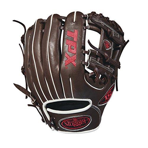 グローブ 内野手用ミット ルイビルスラッガー 野球 ベースボール WTLPXRB181125 Louisville Slugger 2018 Tpx Infield Baseball Glove - Right Hand Throw Dark Brown/White/Red, 11.25